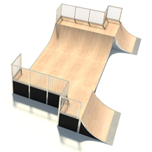 Half Pipe with Hips
