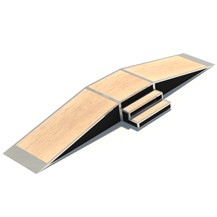 Inline Ramp with Steps