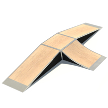 Inline Ramp with Fly Ramp