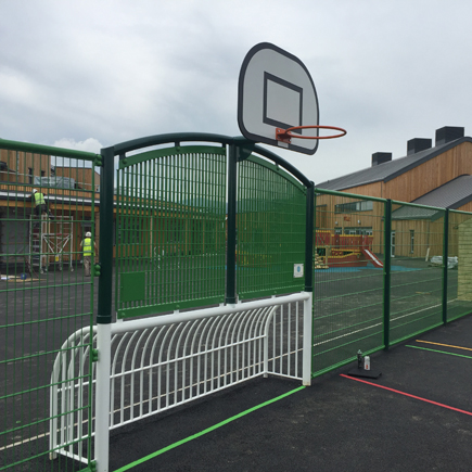 Llandudno Junction Primary School mini goal