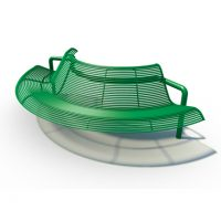 convex round bar seat
