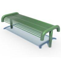 Round bar bench