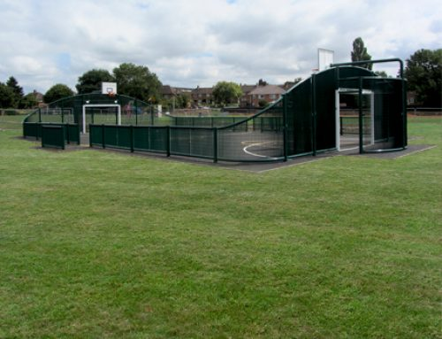 Rugby Road Park MUGA, Whiting Landscape