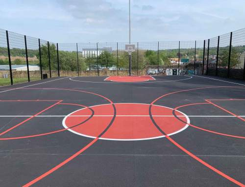 Get People Into Fitness With An Outdoor Sports Court