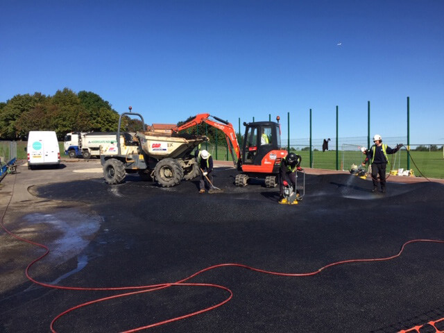 Colley Park Goal End's, BMX Track and MUGA work