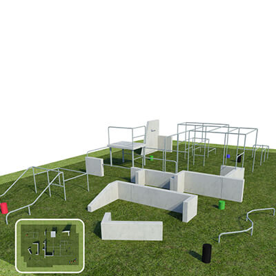 Parkour Obstacle Pitch