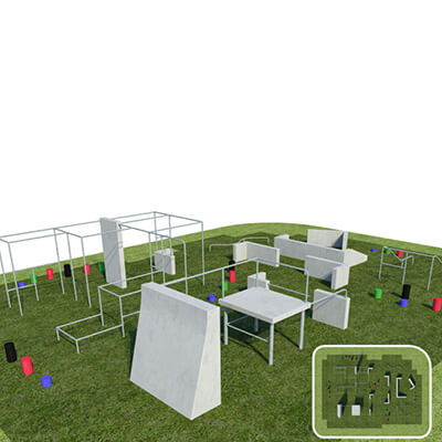 Parkour Obstacle and Free Running Course
