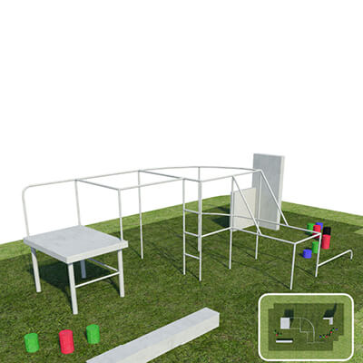 Parkour Free Running Course