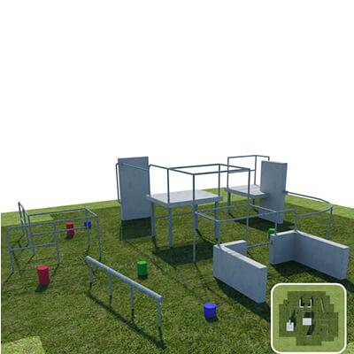 Parkour Obstacle Course