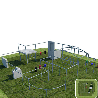 Parkour and Free Running Training Pitch