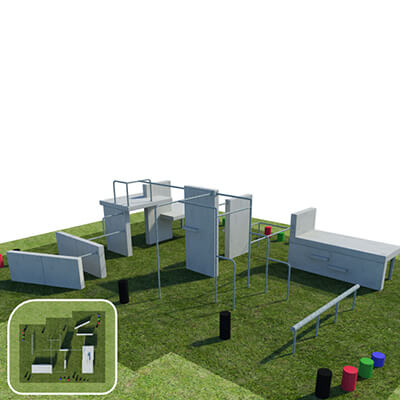 Parkour Military Style Pitch