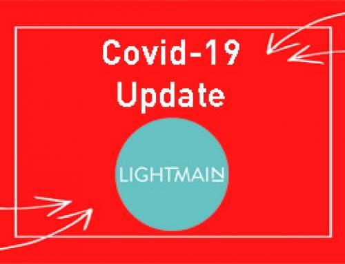 Covid-19- Latest Lightmain Update