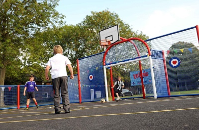 Lightmain are leading suppliers of MUGA's and outdoor equipment