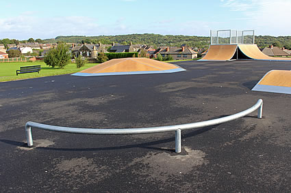 Skatelite Curved Grind Rail